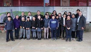Alumnos de Escuela 'Mariano Puga Vega' destacan en prueba SIMCE 2018 en la comuna