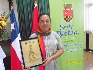 Gobierno Comunal de Santa Bárbara, otorga el grado de Hijo Ilustre a Tenor Pehuenche,Miguel Ángel Pellao