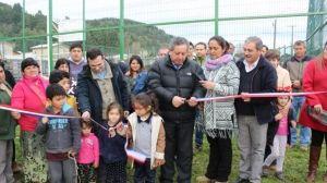 VECINOS RECUPERAN MULTICANCHA PARA SUS ACTIVIDADES EN VILLA RÍOS DE CHILE