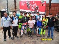 """Una presea de Oro en """"Downhill"""" se trajo de la zona norte delegación de Santa Bárbara, la que participó en Nacional realizado en Petorca"""