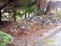 Municipio realiza llamado a colaborar con el medio ambiente en la comuna, evitando botar basuras y escombros en sectores no habilitados para ello