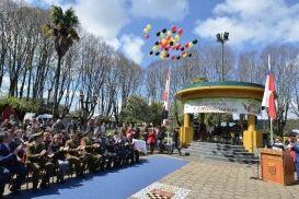 Multitudinario homenaje a los 262º Aniversario de Fundación de Santa Bárbara