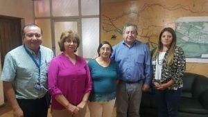 Alcalde de Santa Bárbara en permanente contacto con dirigentes vecinales