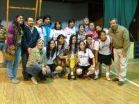 Final fútbol femenino en Sta Bárbara