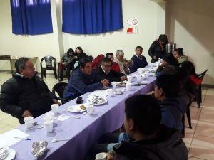 Dirigentes indígenas participan de mesa de diálogo creada por el municipio