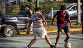 Menores de la Comuna de Santa Bárbara, se recrean en Campeonato de Beibi Fútbol 2016, va en su tercera versión con apoyo del municipio.