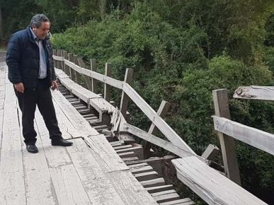 VIADUCTO ES PASO OBLIGADO DE CONECTIVIDAD, ENTRE SANTA BÁRBARA Y COMUNA DE QUILLECO