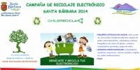 Campaña de reciclaje electrónico