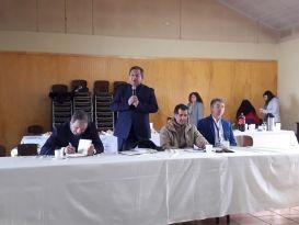 Una interesante jornada de evaluación de casas de Residencias Universitarias realizó el municipio de Santa Bárbara