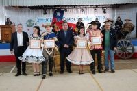 Comunal de cueca escolar en Santa Bárbara demostró amor de los escolares, por nuestros símbolos patrios