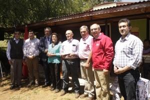 Fue inaugurado proyecto de agua potable en sector rural de Los Alpes