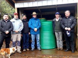 Vecinos de varios sectores rurales contarán con agua potable en sus casas
