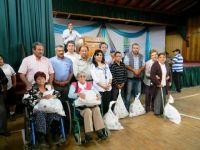 Municipio ofreció almuerzo a personas con capacidades especiales