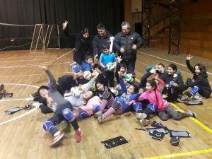 El municipio apoyando a jóvenes y menores promesas del deporte comunal