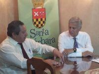Municipios de Santa Bárbara y Talcahuano firman convenio de colaboración