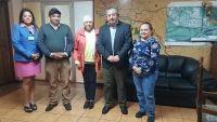 Junta de vecinos 'Gabriela Mistral' se presentó en audiencia ante el alcalde