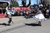 ''Aún tenemos folclore, chilenos''. Mil pañuelos al viento, inició el mes de la patria