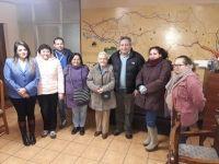 Diálogo ciudadano, con vecinos de población Corvi, en alcaldía de Santa Bárbara
