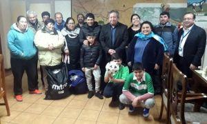 Deportivo Municipal y los junquillos, reciben implementación deportiva del municipio de Santa Bárbara