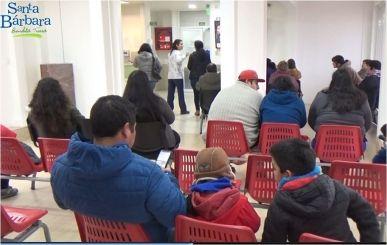 Sala de espera está en pleno funcionamiento en CECOSF de Santa Bárbara
